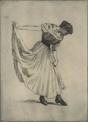 The Curtsy. Julian Rossi Ashton, 1851–1942 Australian