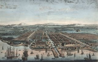 The City Of Batavia In The Island Of Java And Capital Of All The Dutch Factories & Settlements In...