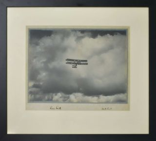 Autographs Of Aviators Ross And Keith Smith [Flying Vickers Vimy Bomber Plane]