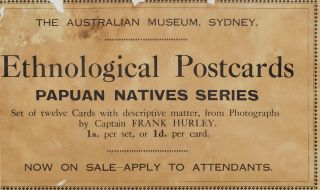 The Australian Museum Display Card