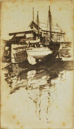 On The Slips [Rushcutters Bay, NSW]. Cedric Emanuel, 1906–1995 Australian