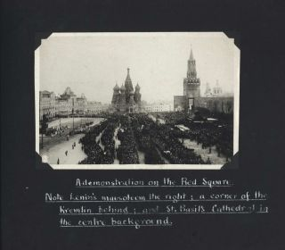 Photograph Album Of Russia, Compiled By An American Tourist