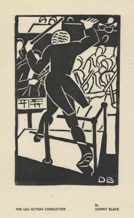 The Leg Action Conductor. Dorrit Black, 1891–1951 Aust