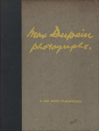 Max Dupain Photographs [Book