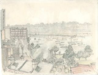 Sydney Foreshore, Rushcutter's Bay, NSW]. Sydney Ure Smith, 1887–1949 Aust