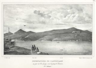 "Views Of Western Australia, ""Nouvelle Hollande"" From The ""Astrolabe"" Journey"