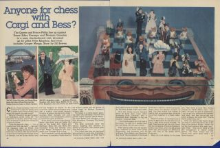 """England-V-Australia"" Chess Set Ephemera"