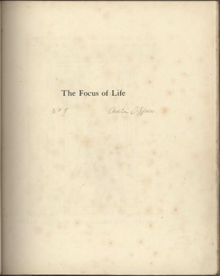 The Focus Of Life: The Mutterings Of Aaos [Book]