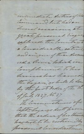 The Assassination Of Captain Patrick Logan, Commander Of Moreton Bay Penal Colony [Letter By Alexander McLeay, Colonial Secretary]