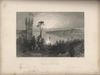 """Canadian Scenery,"" Volume II. Illustrated From Drawings By W.H. Bartlett [Book]. Nathaniel..."