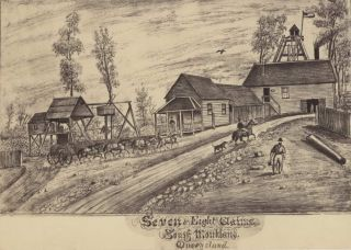 Seven And Eight Claims, South Monkland, Queensland [Gympie, Gold Mining
