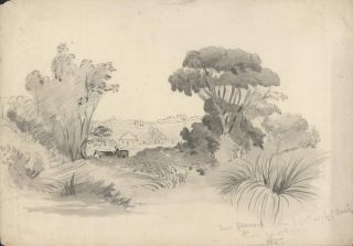 Near Glenrock [NSW]. Rosalie Ann Thorne . After Conrad Martens, 1850–1927 Aust.,...