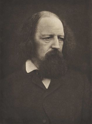 Alfred, Lord Tennyson. Julia Margaret Cameron, 1815–1879 Brit