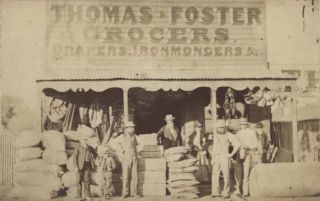 Thomas & Foster, Grocers, Drapers, Ironmongers & Co. and The Granary [Parkes, NSW