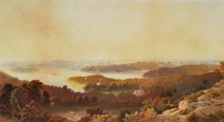 Sydney [From The North Shore]. Edward B. Boulton, 1812–1895 Aust