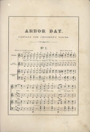 Arbor Day Cantata [NSW]
