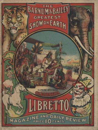 The Barnum & Bailey Greatest Show On Earth [Booklets