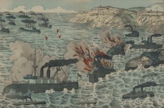 Der Japanische Angriff Bei Port Arthur [The Japanese Attack At Port Arthur, Russo-Japanese War