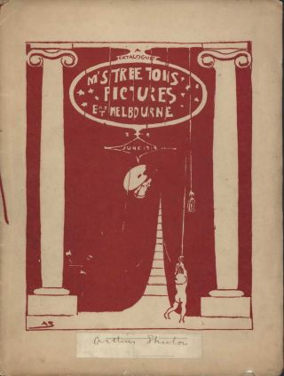A Catalogue [Of] Mr Streeton's Pictures, East Melbourne. Arthur Streeton, 1867–1943 Aust