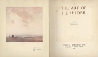 The Art Of J.J. Hilder [Book