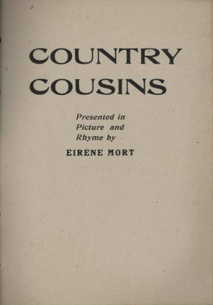 """Country Cousins"" Presented In Picture And Rhyme [Book On Australian Animals]. Eirene Mort,..."