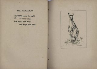 """Country Cousins"" Presented In Picture And Rhyme [Book On Australian Animals]"