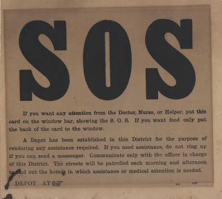 SOS [Influenza Pandemic In Australia