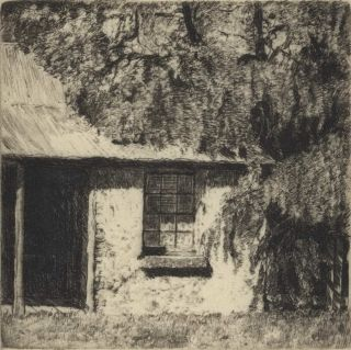 Cottage, Clarendon [Windsor District, NSW]. Sydney Ure Smith, 1887–1949 Aust