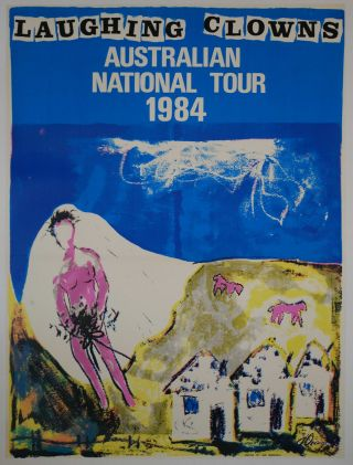 Laughing Clowns. Australian National Tour [Band]. Judi Dransfield, active from 1977 Aust