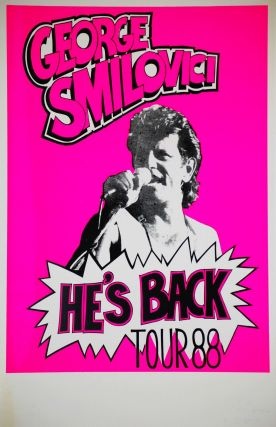 George Smilovici. He's Back. Tour '88 [Performer