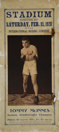Tommy McInnes. Scottish Middleweight Champion