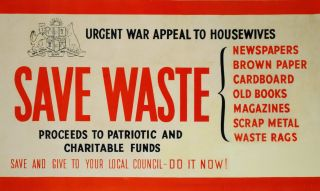 Save Waste [NSW War Appeal
