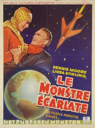 """Le Monstre Ecarlate"" [Movie Serial"