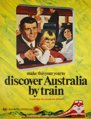 Make This Your Year To Discover Australia By Train