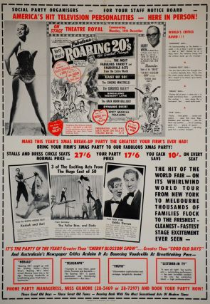 "Harry Wren's ""Roaring 20s,"" Theatre Royal [Sydney"