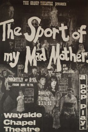 """The Sport Of My Mad Mother."" A Pop Play. Attrib. Martin Sharp, 1942–2013 Aust"