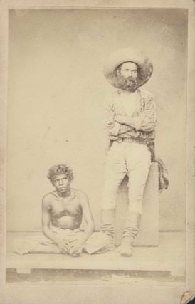 Gold Miner And Aboriginal Man, Port Darwin