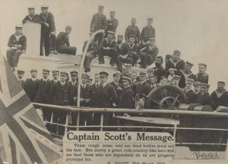 Captain Scott's Message