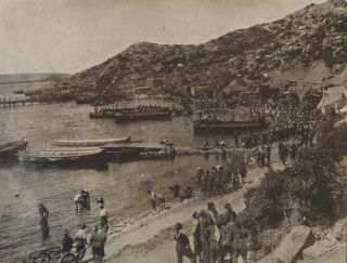 The Tip Of Gallipoli Peninsula Just Before Abandonment By Allies [ANZAC Troops