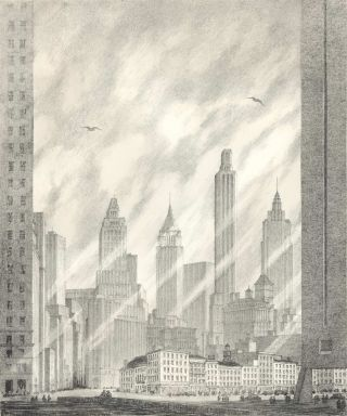 Bicentennial Neighbors [Manhattan, NY, USA]. Gerald Geerlings, 1897–1998 American