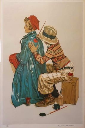 She's My Baby. Norman Rockwell, 1894–1978 American