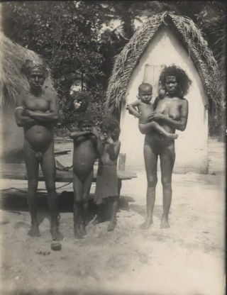 Photographic Collection Of Manus Province Indigenous People And German Colonialists In Papua New Guinea