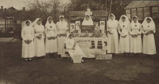 WWI Red Cross Voluntary Aid Detachment Fundraising In Adelaide, SA