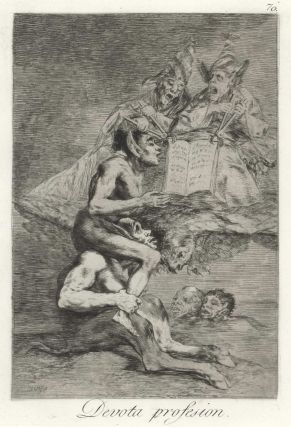 Devota Profesion [Devout Profession]. Francisco de Goya, 1746–1828 Spanish