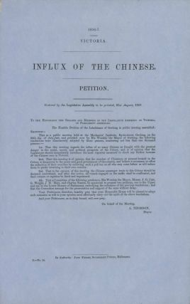Chinese On The Goldfields In Australia