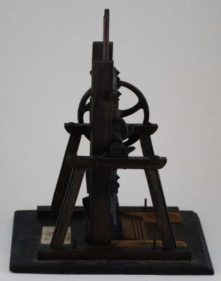 Stamp Mill [Model Ore Crusher Used For Gold Mining]